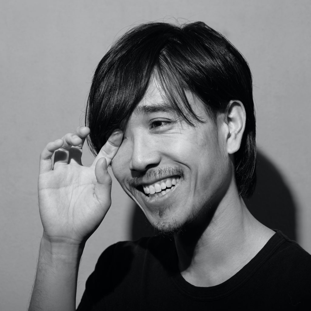 Ryota Yasuda(Peco)のプロフィール写真。笑顔。